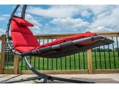 Poduszka do leżaka, DRMC - Czerwony(CR)
