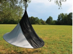 Drzwi do namiotu wiszącego dwuosobowego, Olefin(2) - Charcoal(4)