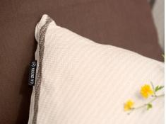 Bawełniana poduszka Habana, HAP5S - ecru(1)