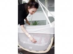 Moskitiera do kołyski dla niemowlaka, Lool Moskito Net - Biały(1)