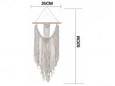 Bawełniana Macramas Medina w stylu boho, MM_3 - ecru(209)