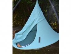Drzwi do namiotu wiszącego jednoosobowego, Olefin Single(1) - Cyan blue(PO1007)
