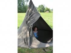 Drzwi do namiotu wiszącego jednoosobowego, Olefin Single(1) - Earth(PO1001)