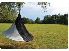 Drzwi do namiotu wiszącego jednoosobowego, Olefin Single(1) - Charcoal(PO1004)