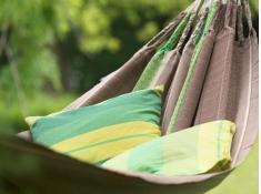 Bawełniana poduszka Orquídea, ORP5S - zielony(4)