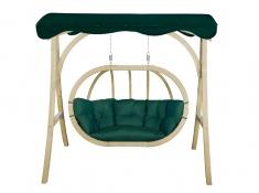 Stojak do dwuosobowego fotela drewnianego, Helios Royal - Świerkowy(Świerkowy)