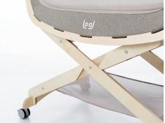Stojak do kołyski dla niemowlaka, Lool stand - Brązowy(2)