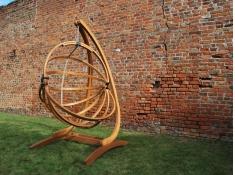 Stojak do fotela hamakowego, Spinaker - Brązowy(1)