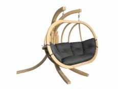 Stojak do foteli dwuosobowych, Sintra - drewno - oliwka(1)