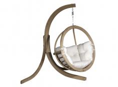 Stojak do foteli hamakowych, Alicante Swing stand - drewno - oliwka(1)
