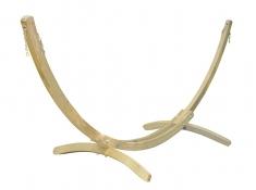 Stojak do hamaków dwuosobowych, Olymp - Świerk + bejca w kolorze oliwkowym(Olymp)