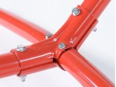Metalowy stojak do hamaków, Advant 120 - Czerwony(10837)