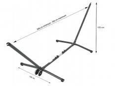 Regulowany metalowy stojak do hamaków, Advant vario - Anthracite(10722)