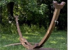 Drewniany stojak hamakowy, 10SPAS