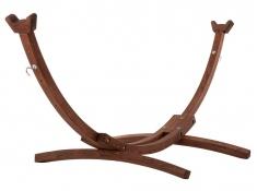 Drewniany stojak hamakowy, 8SPAS - Brązowy(1)