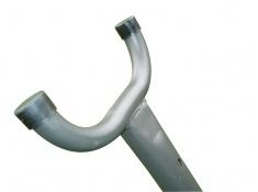 Metalowy stojak hamakowy 8f, UHS8 - antracyt(CHA)