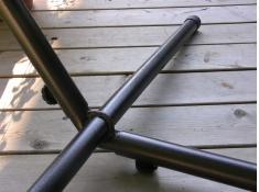 Metalowy stojak hamakowy 9f, UHS9 - metalowy(ORB)