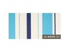 Zestaw hamakowy: hamak Caribena z białym stojakiem Mediterraneo, CIH14MES12-1 - niebiesko-biały(3)