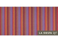 Zestaw hamakowy: hamak dwuosobowy Carolina z białym stojakiem Mediterraneo, CAH16MES12-1 - Czerwony(2)