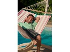 Zestaw hamakowy: hamak Colada ze stojakiem Canoa, COR14CNS161 - Różowy(7)