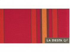 Zestaw hamakowy: hamak dwuosobowy Currambera z białym stojakiem Mediterraneo, CUH16MES12-1 - Czerwony(2)