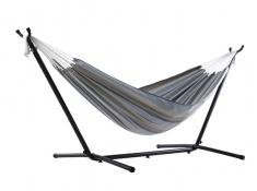 Hamak Sunbrella + stojak metalowy 8f, C8SUN - szaro-zielony(G)