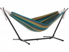 Hamak Sunbrella + stojak metalowy 8f, C8SUN - błękitny(0LA)