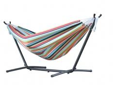 Hamak Sunbrella + stojak metalowy 8f, C8SUN - Kolorowy(C)