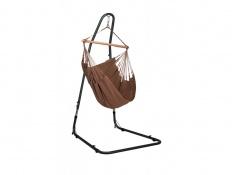Zestaw hamakowy: fotel hamakowy Modesta ze stojakiem Mediterraneo, MOC14MEA12 - Brązowy(6)