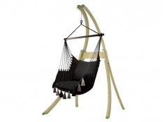 Zestaw hamakowy: fotel AHC-10 ze stojakiem drewnianym Atlas