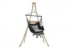 Zestaw hamakowy: fotel AHC-11 ze stojakiem drewnianym Atlas