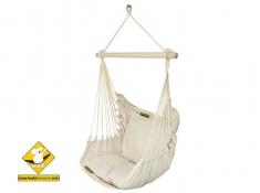 Zestaw hamakowy: fotel HC9 ze stojakiem drewnianym Alicante Swing