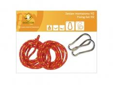 Zestaw hamakowy HW w kolorze 239 z poduszkami i zestawem montażowym