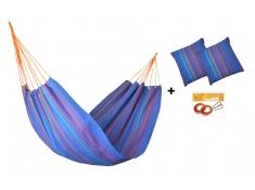 Zestaw hamakowy HW w kolorze 278 z poduszkami i zestawem montażowym