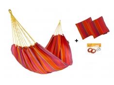 Hängematten-Set HW in Farbe 289 mit Kissen und Bausatz
