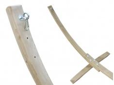 Zestaw hamakowy KOALA: hamak HW 218 ze stojakiem BARCO