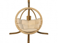 Zestaw: stojak Alicante + fotel Swing Chair Single (2), Alicante+Swing Chair Single (2) - cappuccino(4)