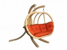 Zestaw: stojak Sintra + fotel Swing Chair Double (3), Sintra + Swing Chair Double (3) - Czerwony(4)