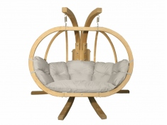Zestaw: stojak Sintra + fotel Swing Chair Double (3), Sintra + Swing Chair Double (3) - kremowy(2)