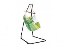 Zestaw hamakowy: fotel hamakowy Orquidea ze stojakiem Mediterraneo, ORC14MEA12 - zielony(4)