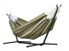 Hamak Sunbrella + stojak metalowy 9f, C9SUN - zielono-szary(0L)