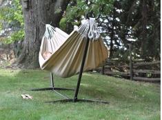 Hamak Sunbrella + stojak metalowy 9f, C9SUN - terakota(S)