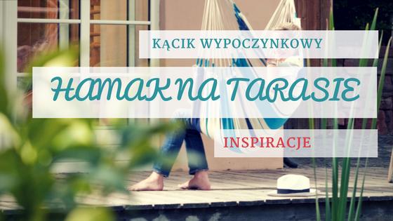hamak na tarasie - blog