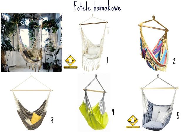 fotele hamakowe - blog