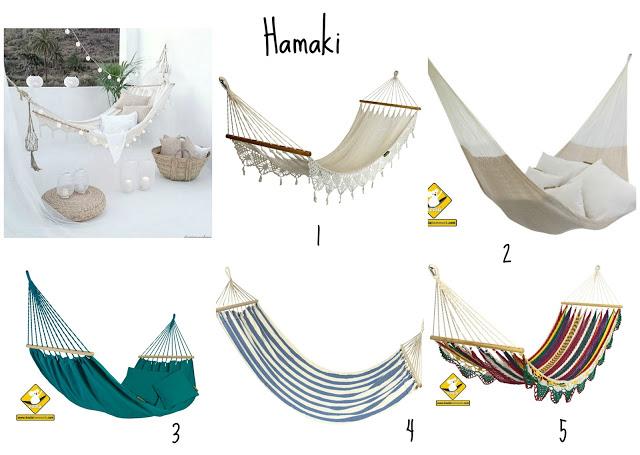 hamaki na tarasie - blog