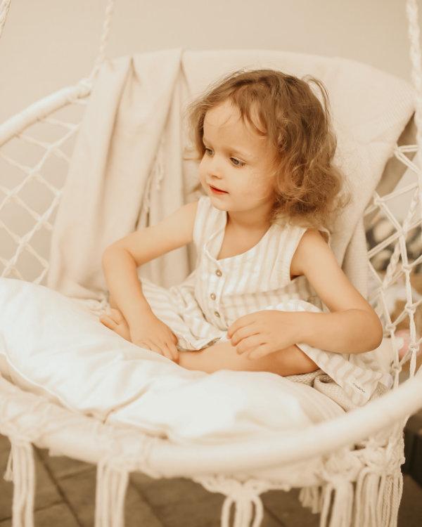 Macrame fotel bujany