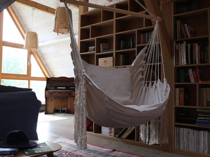 Fotel hamakowy -prezent dla kobiet